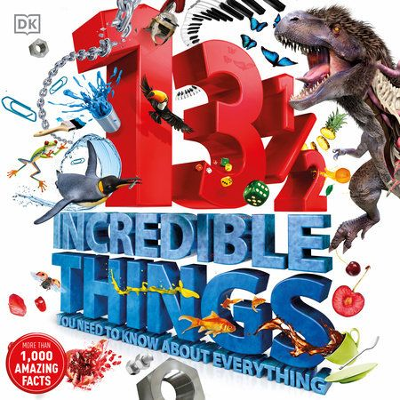 Learn something about everything with 13 mind-blowing facts plus a littlemyth-buster about every topic under (and including) the sun! Everyday objectsfrom cars and skeletons to pianos and chocolate take young readers on anincredible factual adventure.Did you know that one in every four animals on earth is a beetle? Or thatwhite chocolate isn't technically chocolate? 13½ Incredible Things You Need toKnow About Everything includes over 1000 facts on 80 different subjects tosatisfy a child's thirst