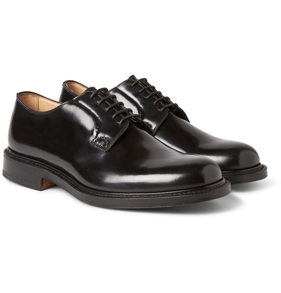 Church's - Shannon Leather Derby Shoes   MR PORTER