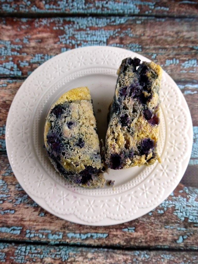 Grain Free Blueberry Lemon Mug Muffin
