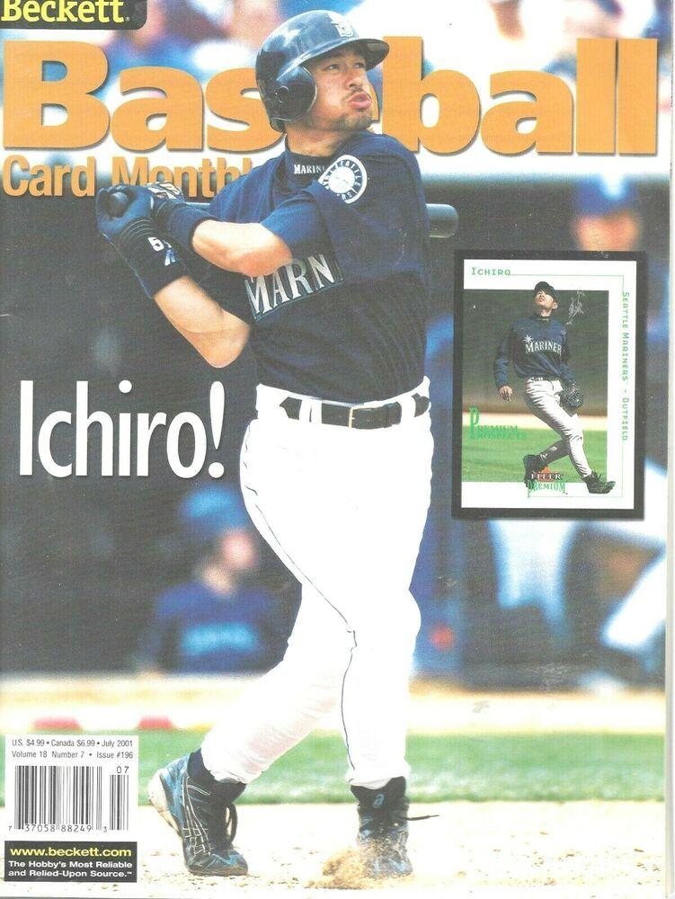 Cara Main Baseball : baseball, Beckett, Baseball, Monthly, Magazine, Ichiro, Suzuki, Mariners, #SeattleMariners, Cards,, Suzuki,