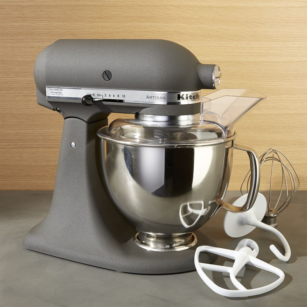 Kitchenaid Artisan Imperial Grey Stand Mixer Reviews Crate And
