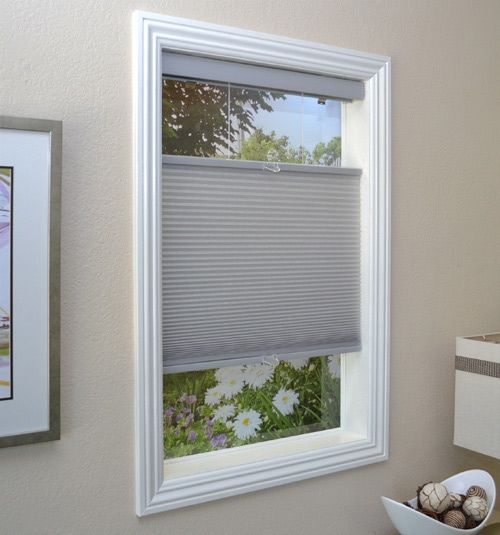 Cordless Top Down Bottom Up Cellular Shade Cellular Shades French Doors Modern Window Treatments