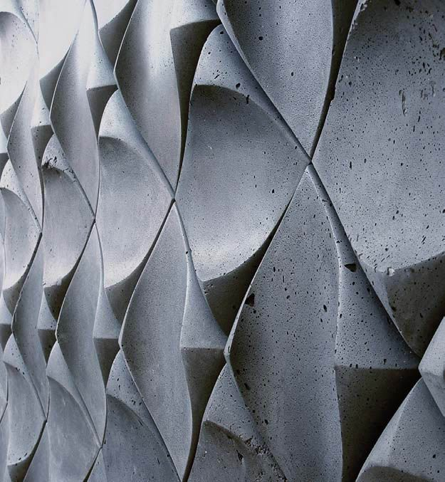 Cool concrete tile from Canada
