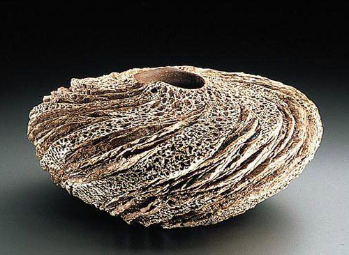 Anne Goldman ceramic forms, wow!