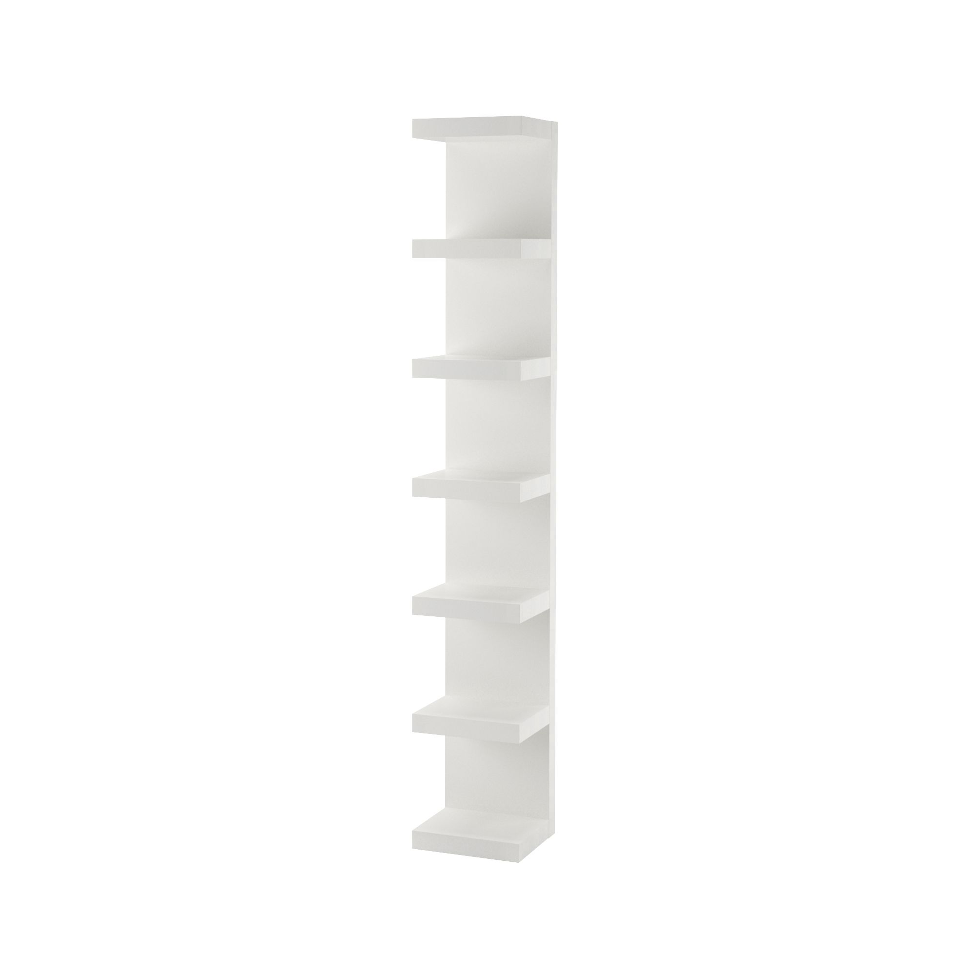 Lack Wall Shelf Unit White 11 3 4x74 3 4 In 2020 Wall Shelf Unit Ikea Lack Wall Shelf White Wall Shelves