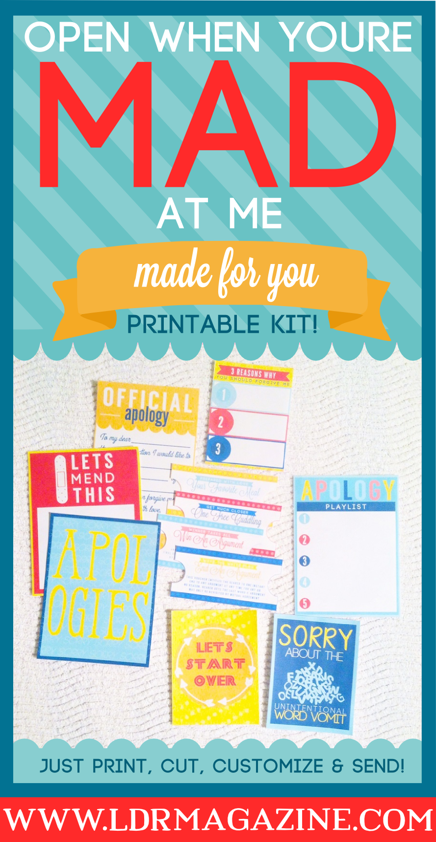open when you re mad at me letter six open when printable kits ldr magazine 907