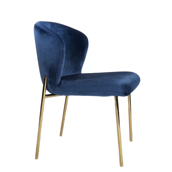Clarisa Upholstered Dining Chair Blue Dining Chair Dining Chairs Upholstered Dining Chairs