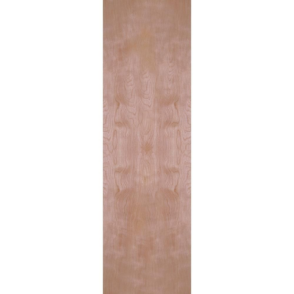 Masonite 24 In X 80 In Smooth Flush Hardwood Hollow Core Birch Veneer Composite Interior Door Slab 16708 Doors Interior Veneers Masonite