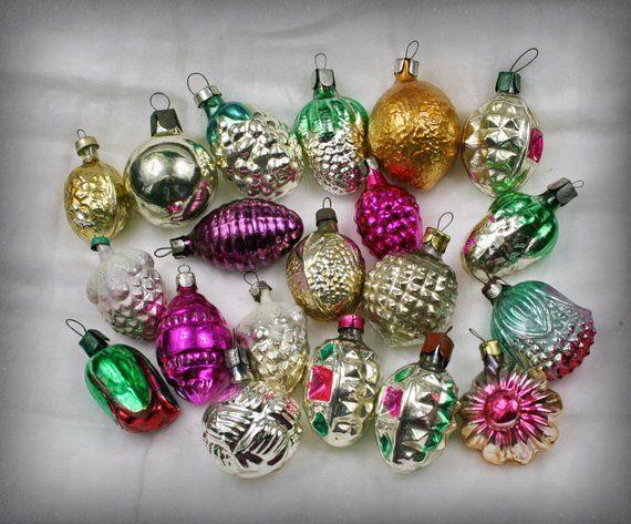 Holiday retro decor Soviet Vintage  Christmas ornament Christmas ornament  Holiday rustic decor  christmas decoration
