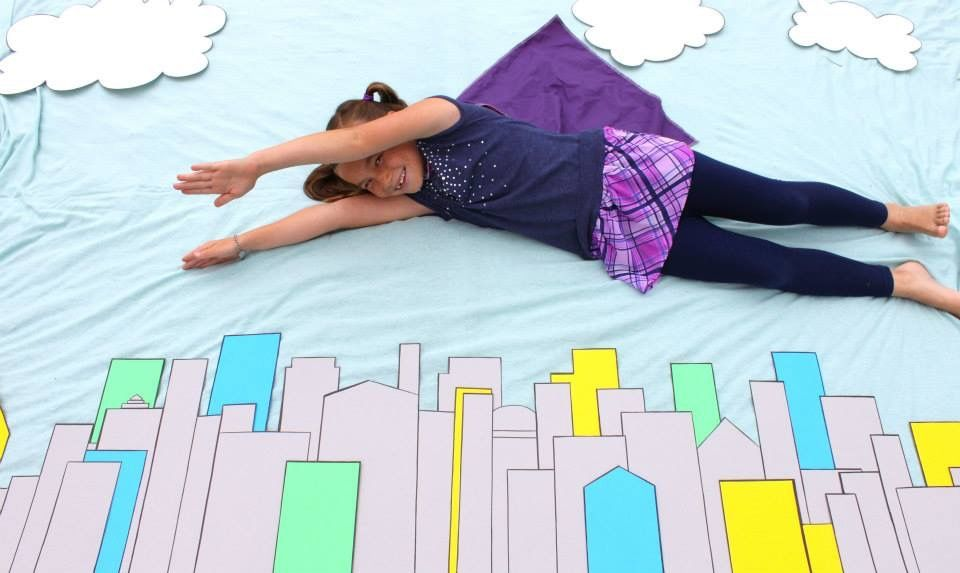 Superhero Party Photo Op Able To Leap Tall Buildings In A Single