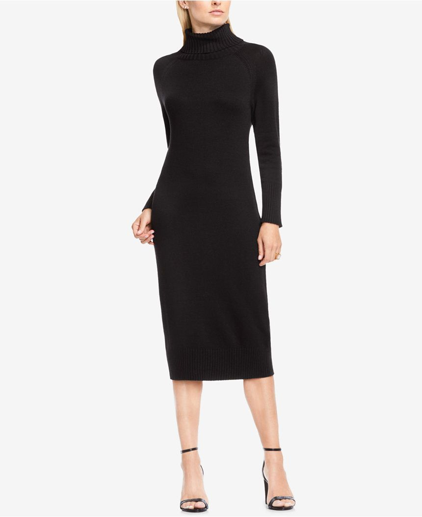 Vince Camuto Turtleneck Sweater Dress Dresses Women Macy S Turtle Neck Dress Long Sleeve Sweater Dress Clothes Design [ 1053 x 860 Pixel ]