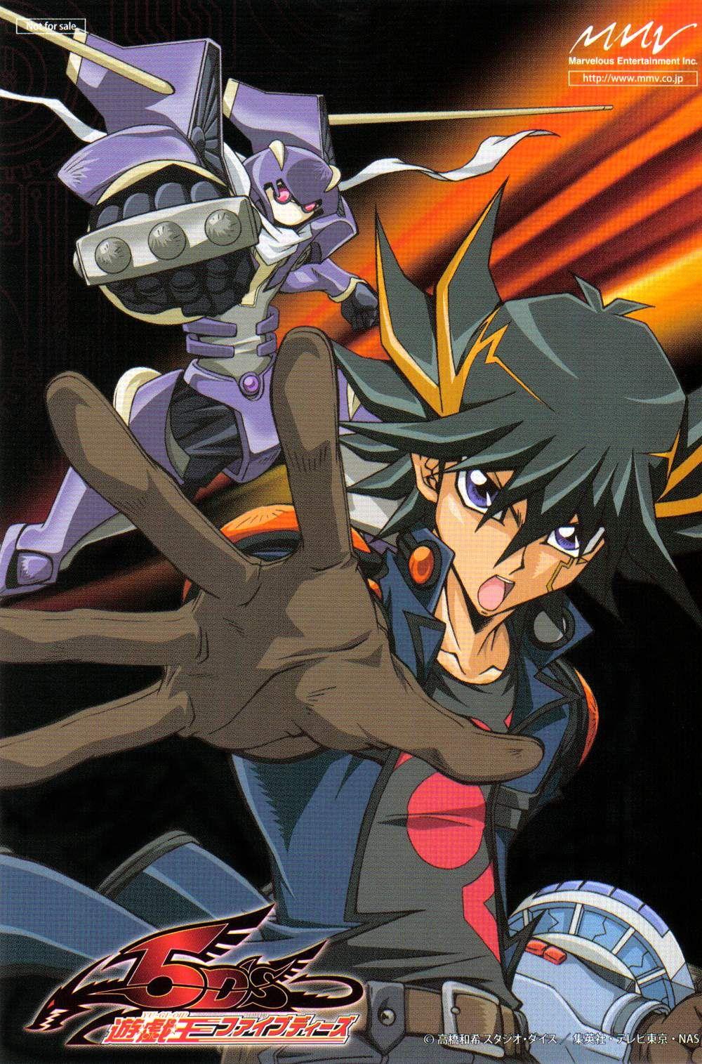 Takahashi Kazuki, YuGiOh!, YuGiOh! 5D's, Yusei Fudo