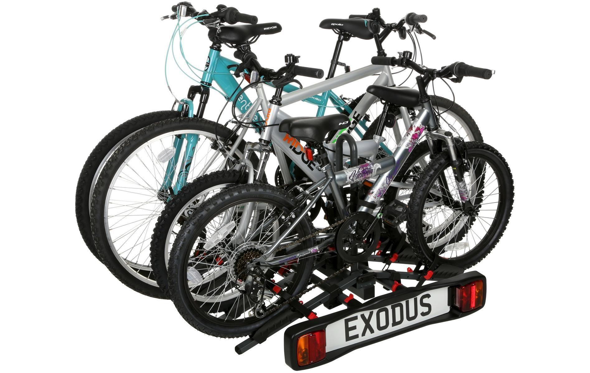 Exodus 4 Bike Towbar Mounted Cycle Carrier Bike Rack Bike