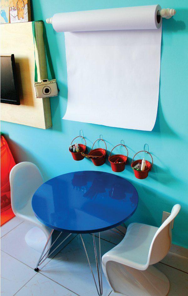 Dormitorio Infantil Con Rincón Creativo