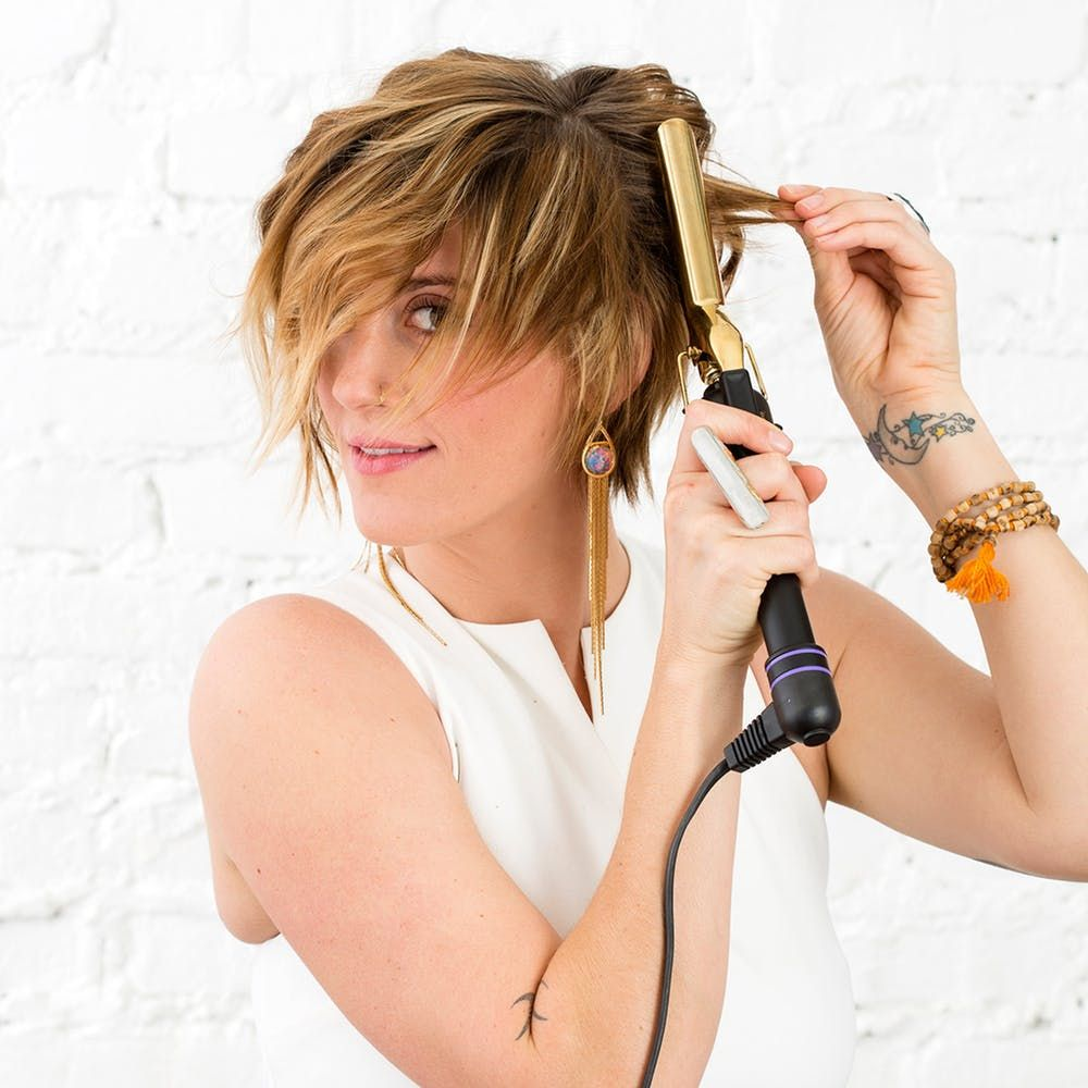 Pixie Waves: How to Curl Short Hair