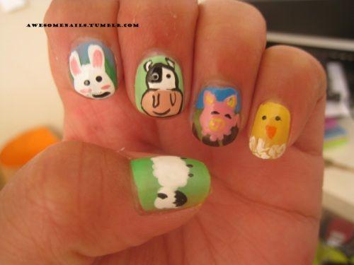 Animal Nail Art On Tumblr Animal Nail Art Tumblr Nail Art Animal Nails