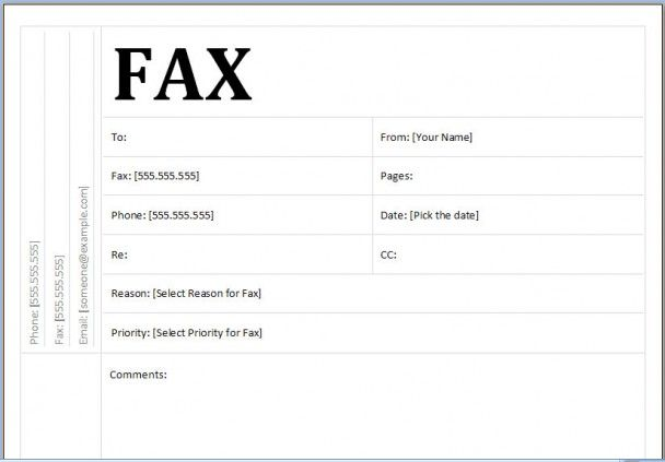 Fax Cover Sheet Resume Template -   wwwresumecareerinfo/fax