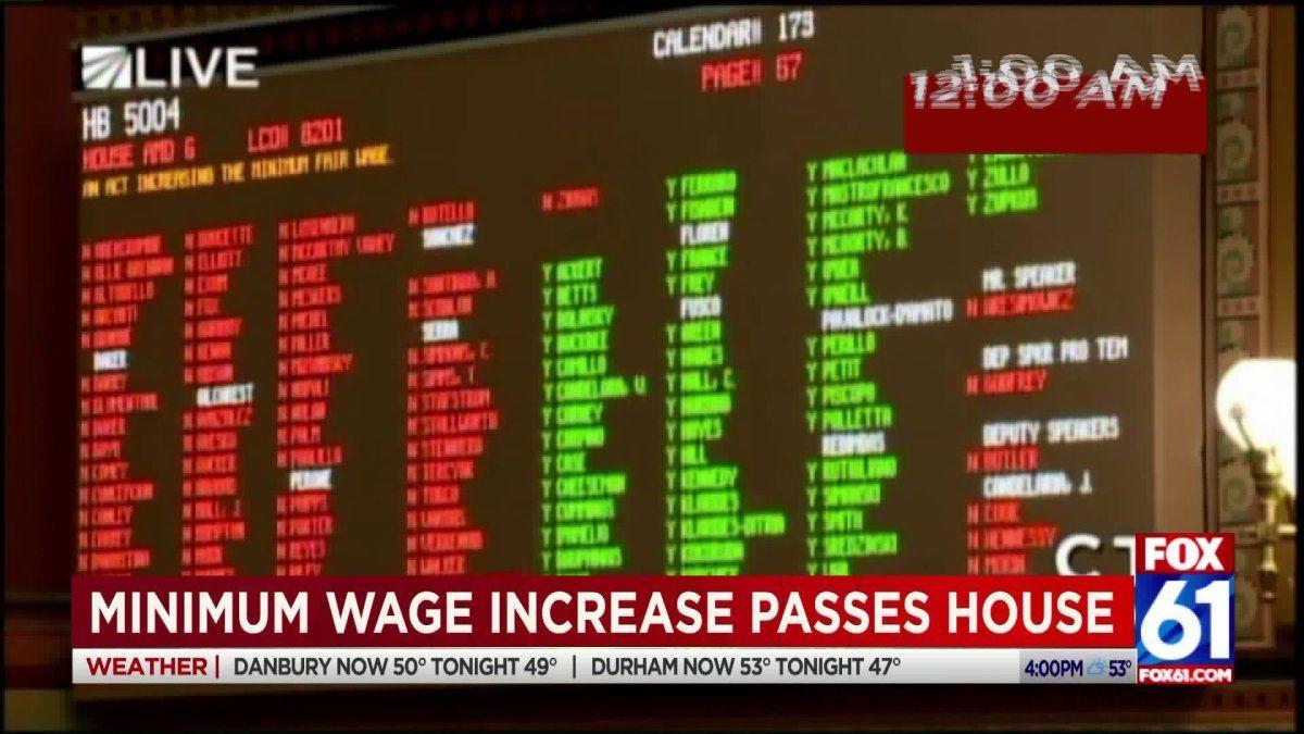 Minimum wage bill passes house after grueling debate