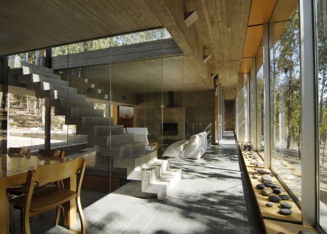 esszimmer wohnzimmer omnibus hang haus von pedro gubbins