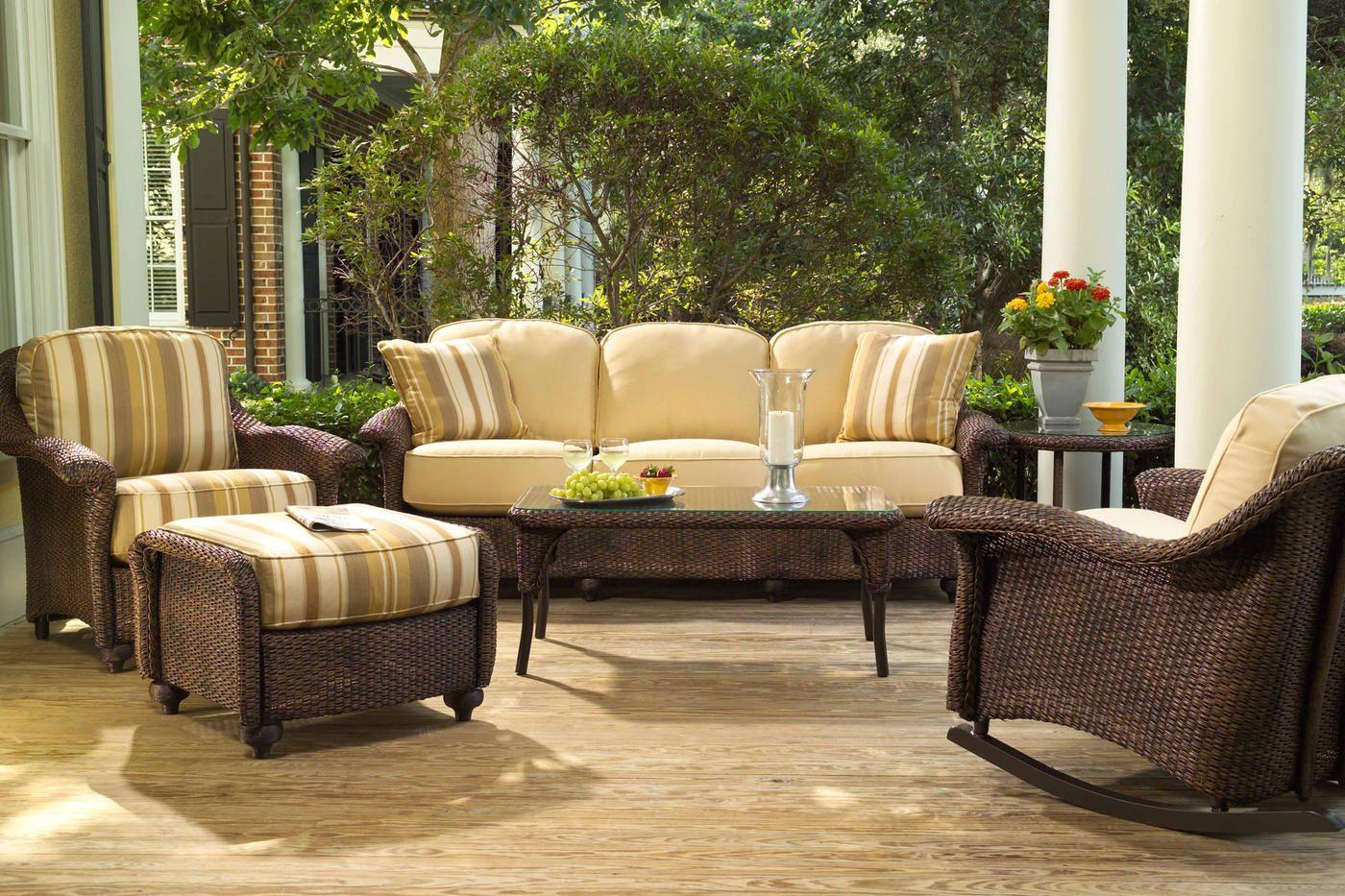 All Weather Wicker Outdoor Furniture Lloyd Flanders Summer