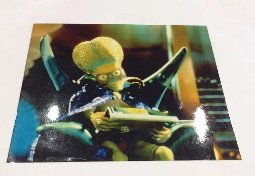 Mars Attacks (Tim Burton, Jack Nicholson) Movie Print Alien  | eBay