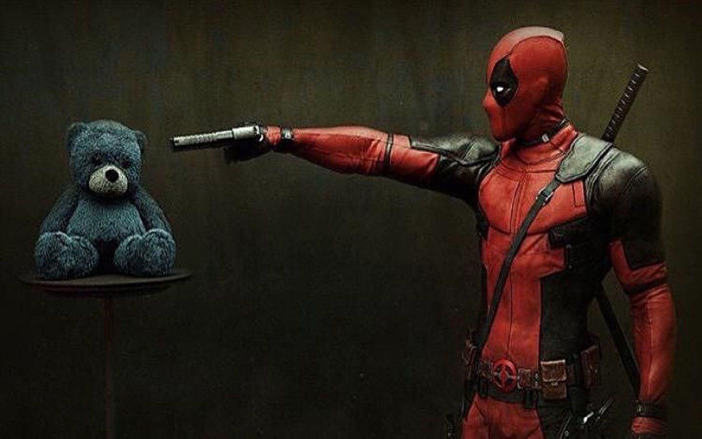 The second promo shot appears to be a low-res version of what we presume to be the first official Deadpool poster which may release in full during the convention. Description from pakgamers.com. I searched for this on bing.com/images