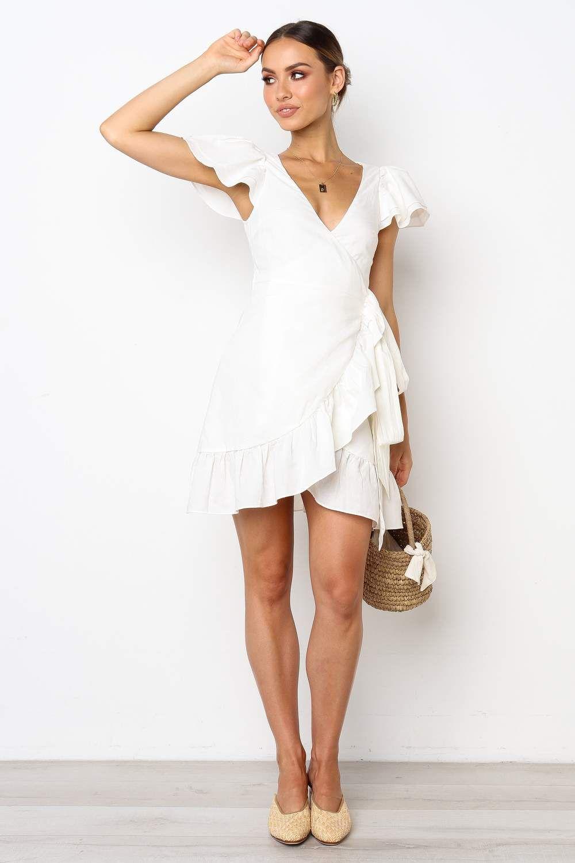 6071e95baf99 Midsummer Dress - White in 2019 | повседневные платья | White dress ...