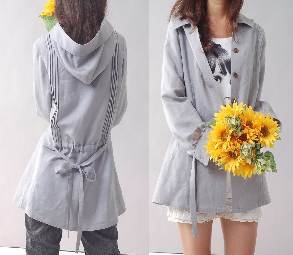 Immortelle top quality linen blouse and jacket by idea2lifestyle