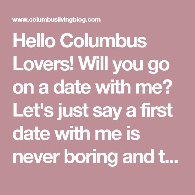 First date ideas columbus ohio