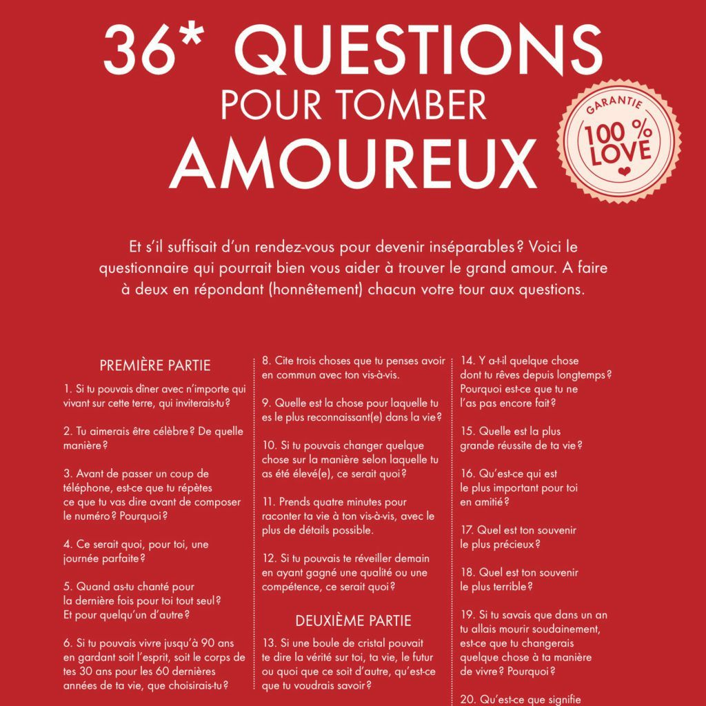 50 Questions à poser à une fille pour entretenir une conversation intéressante