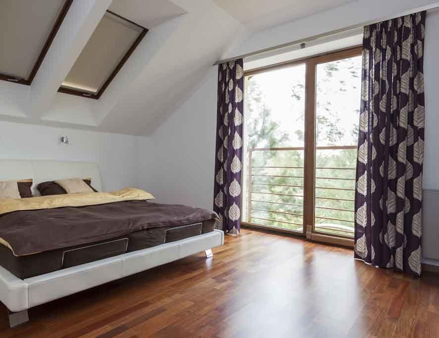 Bedroom with balcony home \ interior Pinterest Gardinen - vorhang schlafzimmer modern