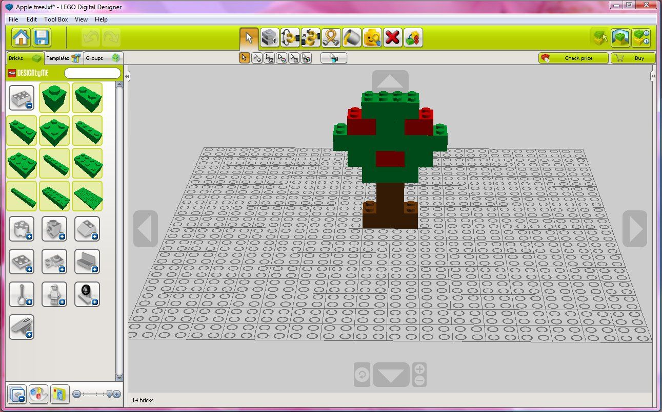 Lego Online Designer