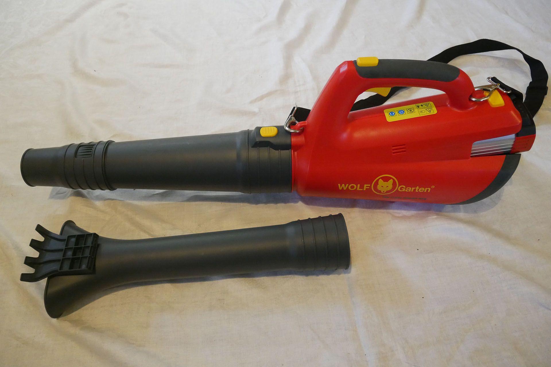 Wolf Garten 72v Li Ion Power 24b Leaf Blower Review Leaf Blower
