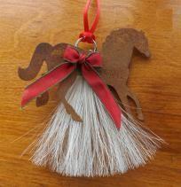 Horse Hair Handmade Christmas Ornaments - Horse