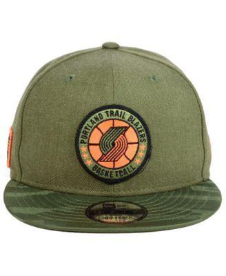 low priced c0593 f8f8b New Era Portland Trail Blazers Tip Off 9FIFTY Snapback Cap - Green  Adjustable