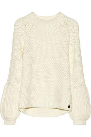 Lorena chunky-knit wool-blend sweater