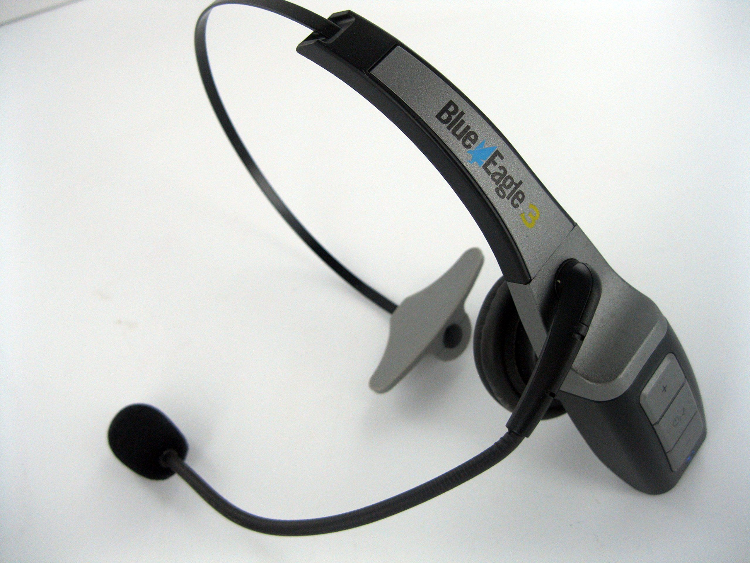 Blue Eagle 3 III Bluetooth Trucker Headset. 23 Hours of Talk Time ...