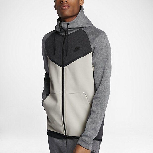 Nike Sportswear Tech Fleece Windrunner Men S Hoodie Nike Tech Fleece Mens Sportswear Hooded Sweatshirt Men
