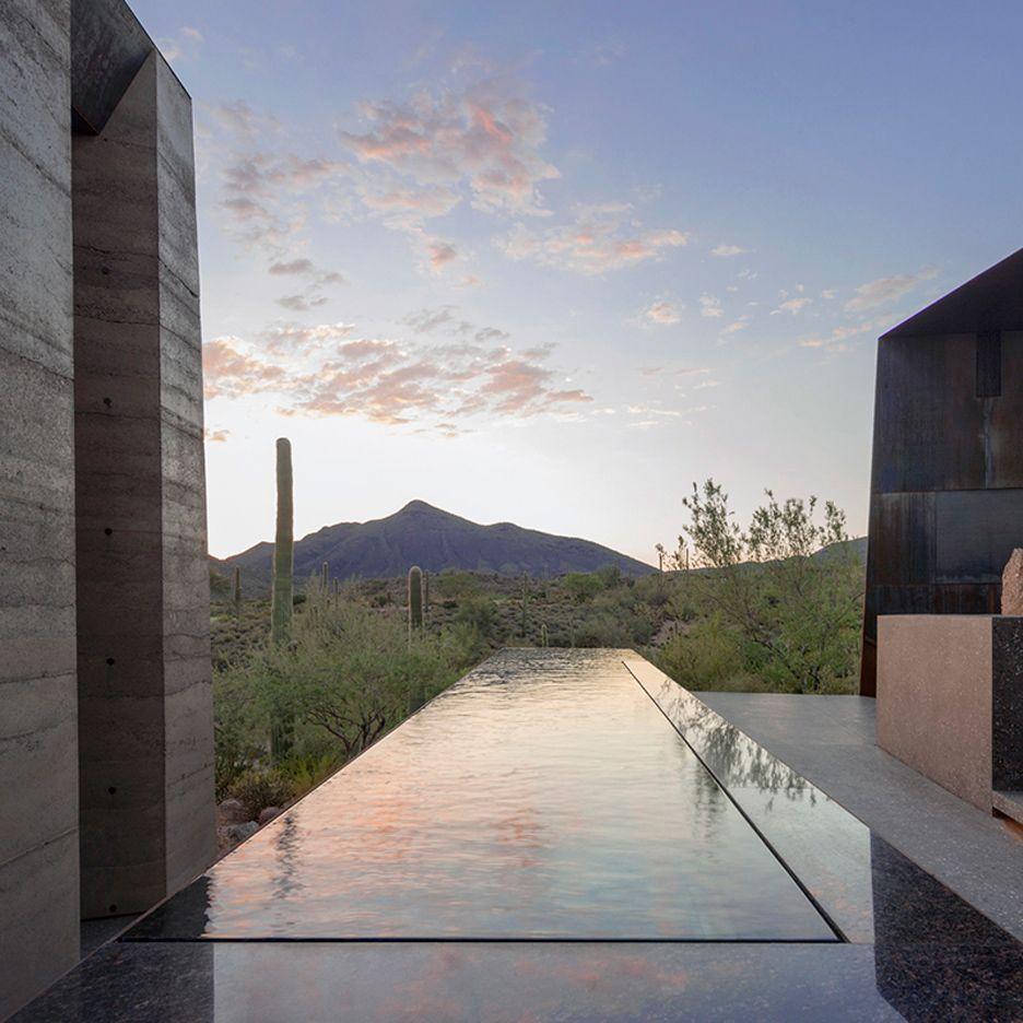 Five of the best houses in Arizona on Dezeen   Outdoor   Pinterest ...