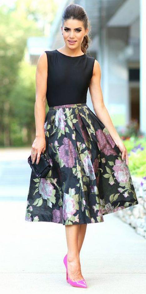 94cf6520c4 Ideas para combinar faldas lady estilo años 50 para un look muy ...