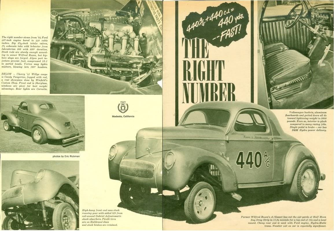 1941 Willys Coupe Rusca and Morris 1a