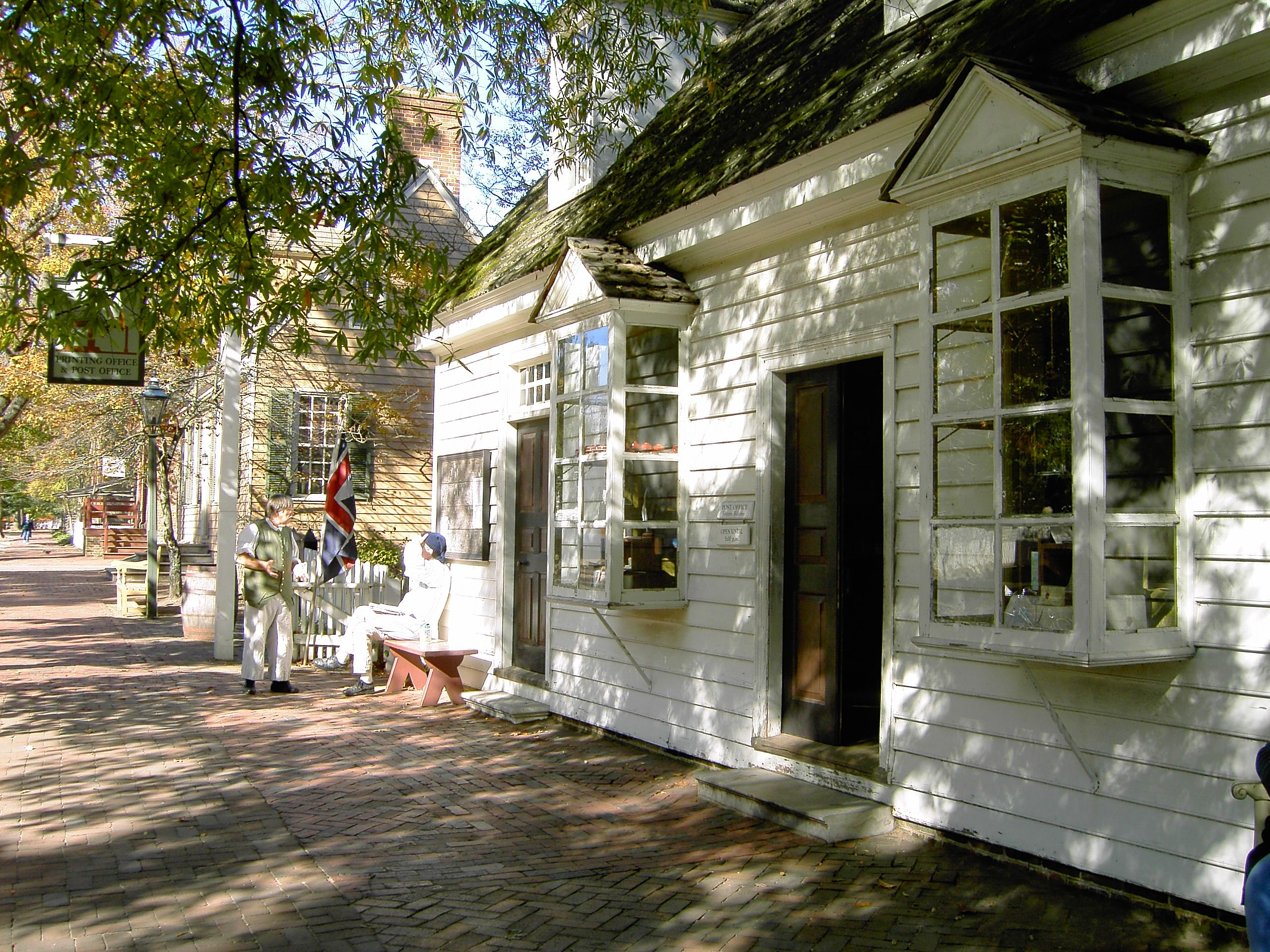 Post Office Colonial Williamsburg