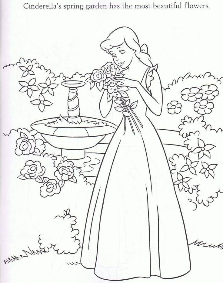 Pin de MajaMørkholt en Cinderella Coloring Pages | Pinterest ...