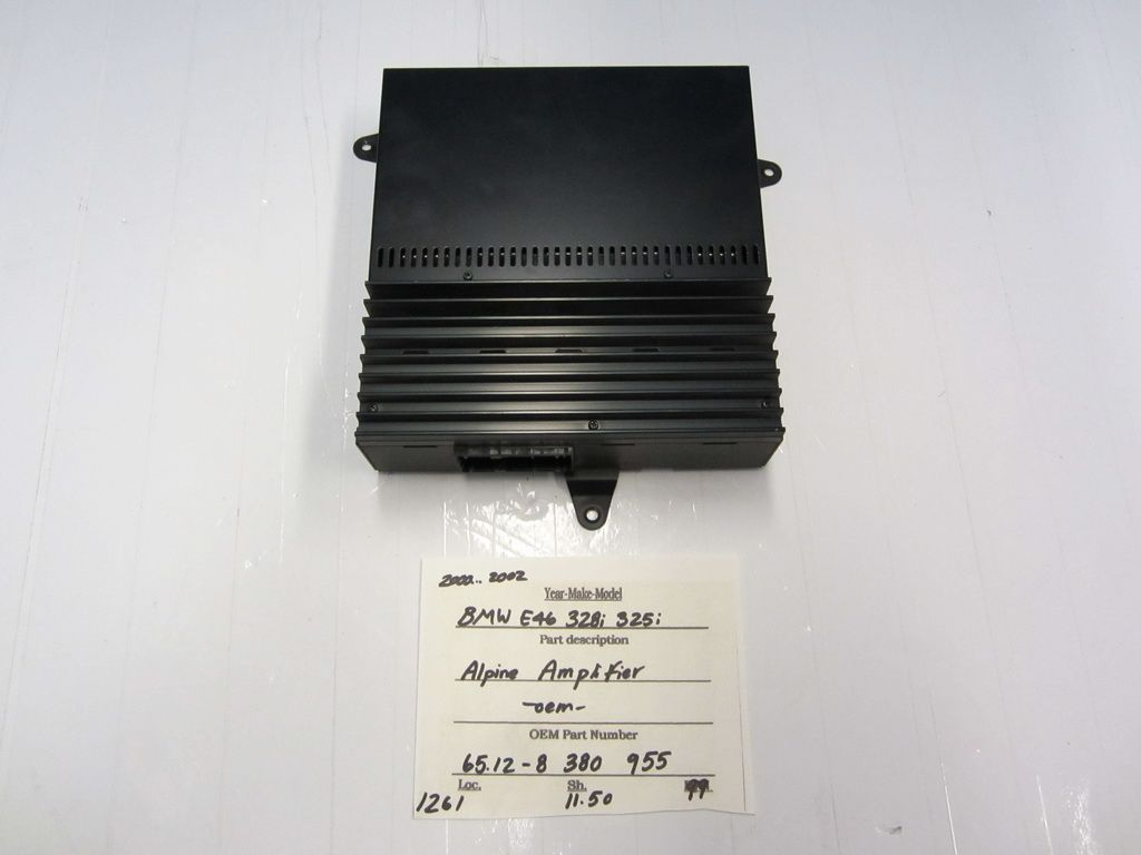 This amplifier amp is for bmw bmw 325i bmw 328i bmw e46
