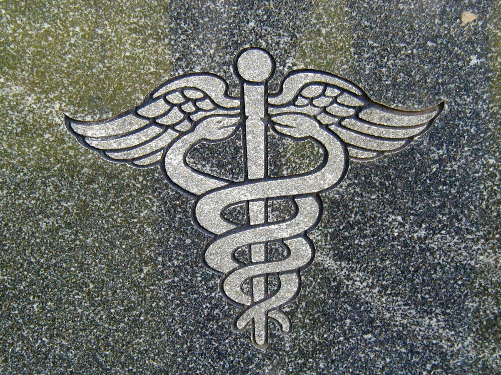 This Is Known As The Caduceus And It Has Been The Symbol Of The