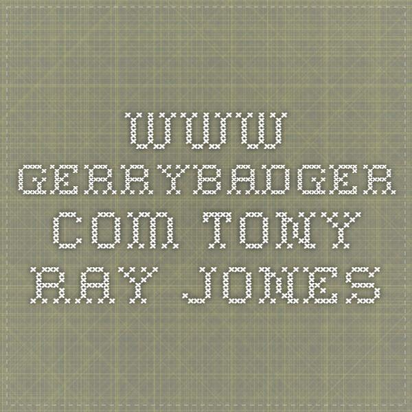 www.gerrybadger.com Tony Ray-Jones
