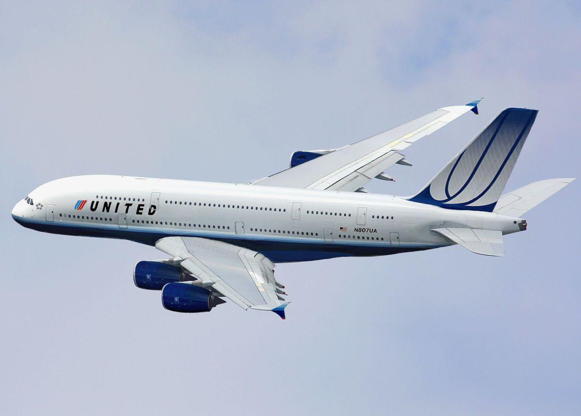United Airlines Airbus A380 800 Combo Aviation Design Modified Airliner Photos Airbus A380 United Airlines Airbus