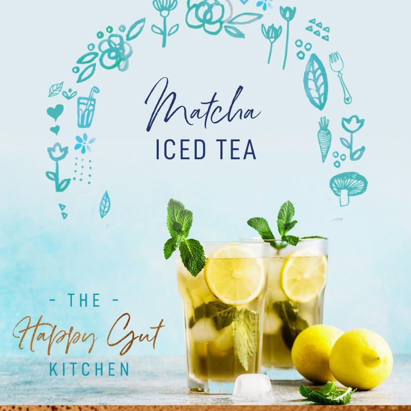Matcha Iced Tea Matcha iced tea, Iced tea, Matcha