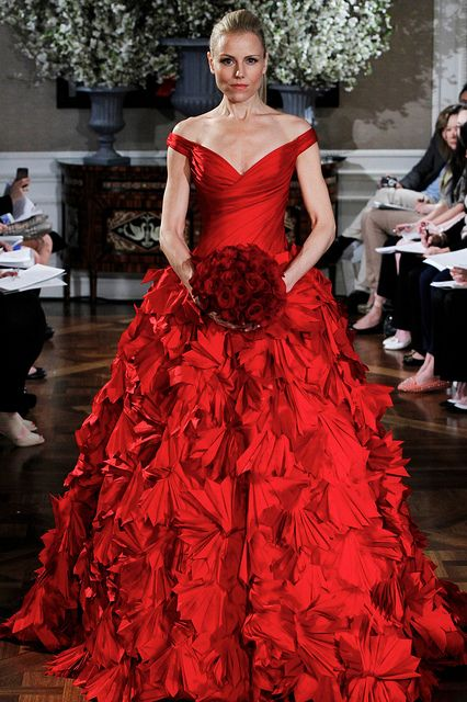 Who is This BOLD???Spring 2013 Romona Keveza Couture Bridal Collection - 10 RK309 FRONT by futureclaw, via Flickr