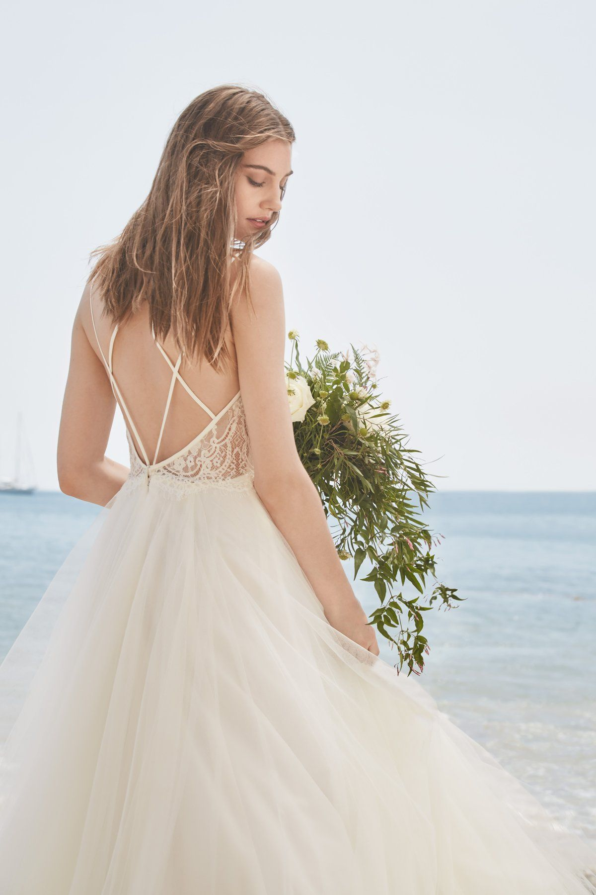 Wedding dress drawing  Willowby Dress Madeira  Jeffandpaigegotengaged  Pinterest